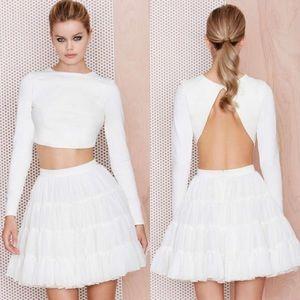 Nasty Gal Tutu skirt in white